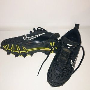 NIKE SOFTBALL CLEATS WOMEN'S BLACK 9.5